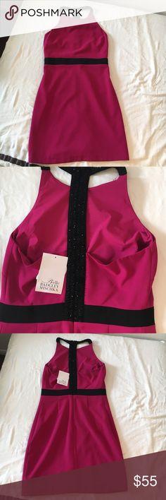 Belle Badgley Mischka Fuchsia dress NWT Belle Badgley Mischka Dress, size 6, Badgley Mischka Dresses Mini