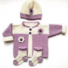 Frieda - Strick Baby Set