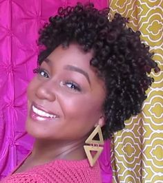 Taper your curls to get a faux-TWA (teeny weeny afro) #naturalhair