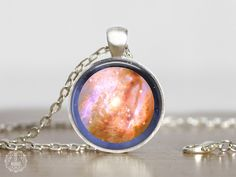 Venus Pendant Necklace   Venus Necklace Venus Jewelry Planet Jewelry Watercolor Galaxy Necklace Space Jewelry Astronomy Space Grunge Science by AgeOfAkuarius on Etsy