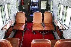 Ledersitze der Antonov im Stil der 50er Jahre