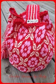 My crochet mochila :)