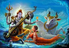 Shiva-Parvati Picture Gallery | The Fictitious Abode Of Shiva-Parvati