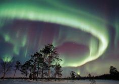 Aurora Borealis in Finnish Lapland
