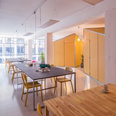 Nook Architects move into self-designed co-working space in Barcelona
