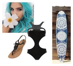 """Surfing with my bestie (RP)"" by sillydilly-1 ❤ liked on Polyvore featuring Nach Bijoux, Free People and IPANEMA"