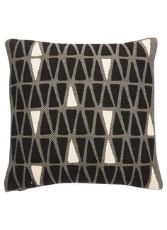 National Geographic Home Collection Pillow in Steel Grey & Caviar design by…