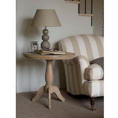 Buy Neptune Henley 60cm Pedestal Side Table, Oak Online at johnlewis.com. £295
