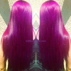 Pravana  vivids pink hair