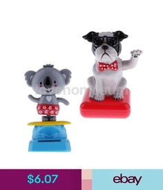 Solar Power Dancing Toy Cat And Dog Set Of 2 Solars 2019 Christmas For Home Car