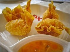 Deep Fried Shrimp Wonton, cant wait to try and make these