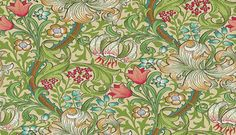 Buy Morris & Co Golden Lily Wallpaper 210431 01 Linen. The William Morris Wallpaper Discount.