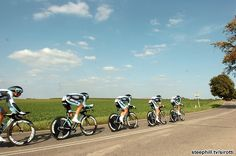 It's fitting that the team, Omega Pharma-Quickstep, that worked best as a team wins the World's time-trial championships