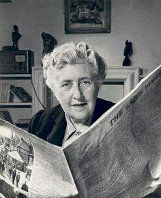 Agatha Christy read too...