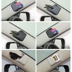 Universal Auto Car Accessories Glasses Organizer Storage Box Holder 3 Color… – My CMS Car Interior Accessories, Cute Car Accessories, Camping Accessories, Vehicle Accessories, Car Storage Box, Volkswagen Type 3, Combi Vw, Car Gadgets, Car Hacks