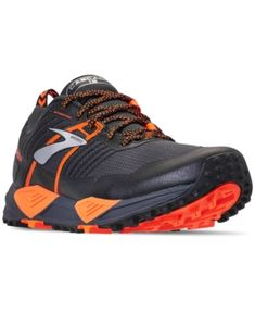 55c9fbd7785 Brooks Men s Cascadia 13 Trail Running Sneakers from Finish Line - Gray 10