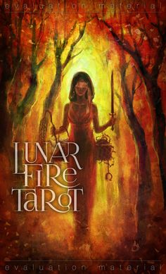 The Lunar Fire Tarot is going to be published. The tarot deck by Fiona Benjamin is based on spiritual and traditional symbolism to face our demons. Dark Deck, Justice Tarot, Love Oracle, Oracle Tarot, White Books, Tarot Readers, Human Soul, Major Arcana, Effigy