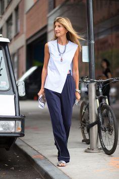 c9c78f30fb NYFW  The Best On The Street Style Scene