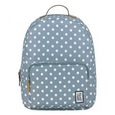 The Pack Society Grey White Dots Classic Backpack