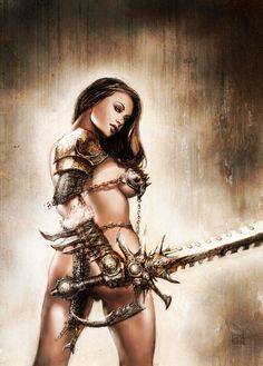 The valuable erotic woman warrior fantasy art consider, that