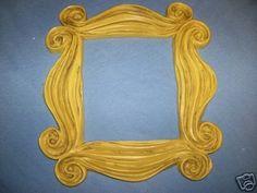 Friends tv show frame.  $35 on ebay cabesa_roja