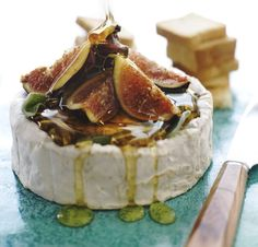 Figs, brie and honey, a lovely combination and so easy to prepare for your next summer gathering.