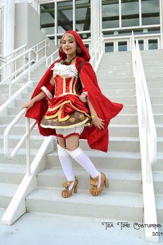 Steampunk Red Riding Hood 1 by TeaTimeCostuming.deviantart.com on @deviantART