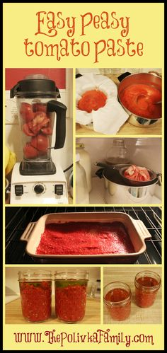 Easy Peasy Tomato Paste