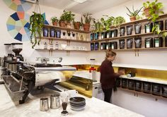 Clement Cafe @ South Melbourne Market. Interiors: Barbara and Fellows. Photographer: Tracey Lee Hayes