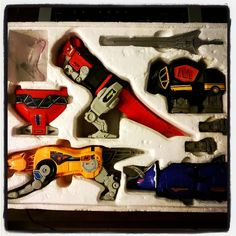 #Megazord Mighty Morphin Power Rangers, Yellow, Toys, Instagram Posts, Pink, Games, Toy, Rose, Beanie Boos
