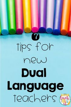 Are you a new Dual language teacher? Welcome! I hope you'll find this tips helpful! This post may contain affiliate links. It...