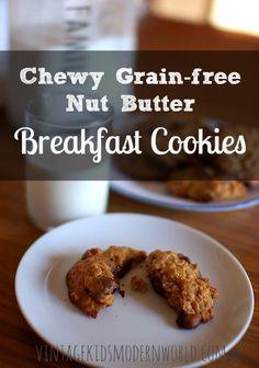 Breakfast fruit and nut cookies recipe