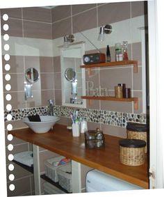 1000 id es sur salle de bains taupe sur pinterest salle de bains en bois fonc salle de bains for Galet salle de bain vernis