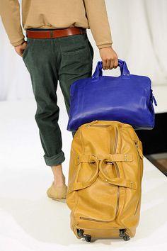James Business Bag Blue Arthur Travel Bag with wheels