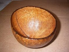 DIY How to Recycle a Coconut Shell into a Bowl