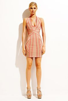 See the complete Hervé Léger by Max Azria Resort 2011 collection.