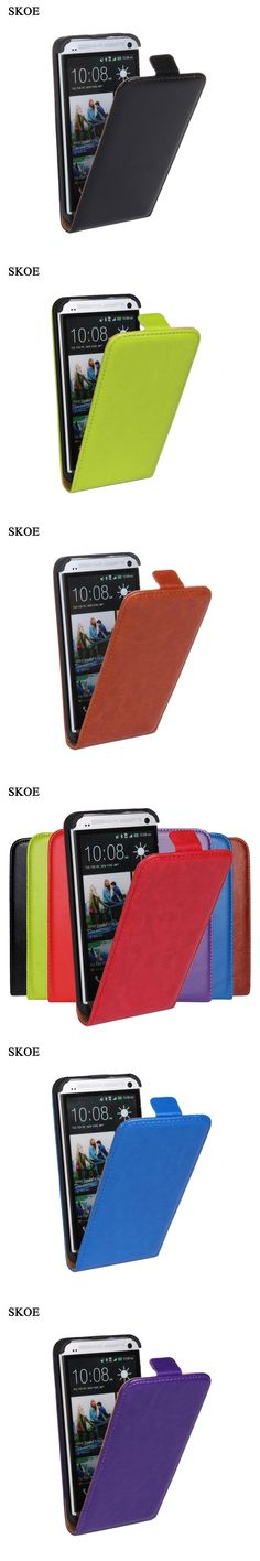SKOE Luxury Flip Case For HTC One X One S M7 M8 M9 Cover Retro PU Leather Vertical Armor Case For HTC One X/One S/M7/M8/M9 Cover