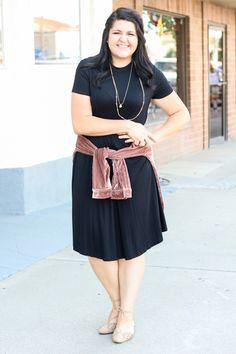 9e6fb441b03a Alexa Trapeze Dress In Black Womens Boutique Dresses, Boutique Clothing,  Modest Bridesmaid Dresses,