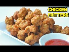 Chicken Fritters / Chicken Balls by YES I CAN COOK #Fritters #Dumpling #ChickenBalls #ChickenPakora - YouTube Chicken Pakora, Yummy Recipes, Yummy Food, Chicken Balls, Yes I Can, Eid Collection, Dumpling, Fritters, Cook