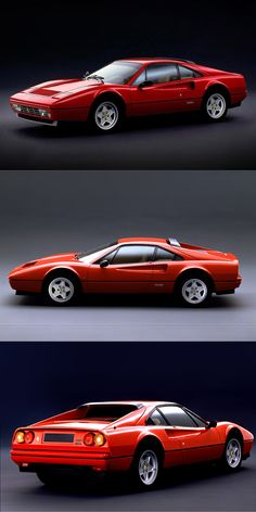 1985 Ferrari 328 GTB / 270hp V8 / Leonardo Fioravanti @ Pininfarina / Italy / red