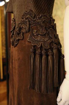 Givenchy. Кожа, мех, кружево… | Мастерская Светланы Ильиной
