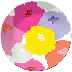 Dahlia Round Platter, $16, now featured on Fab.