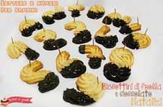 biscottini natalizi di frolla e cioccolato ricetta biscotti lettere e numeri per bambini