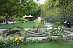 beautiful playground at Peppertree Montessori