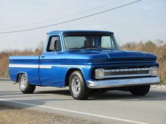 blue chevy pickup | Blue Chevy Truck - Vonore by `CrystalJMarine on deviantART