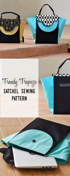 bag sewing patterns | handbag patterns | purse sewing patterns |