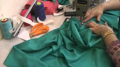 how to pleat a salwar