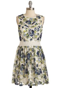 Floral for Love Dress, #ModCloth