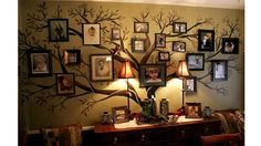 Arbre g n alogique design contemporain faire soi m me - Arbre genealogique avec photo ...