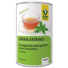 stevia_extrakt_50g_pulver_v1__65253 Stevia, Vegan, Healthy Recipes, Healthy Food, Ricotta, Diabetes, Drinks, Tableware, Desserts